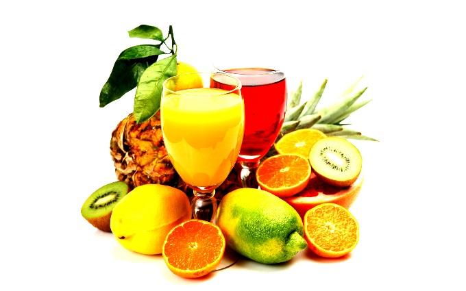 Фреш из фруктов.