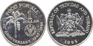 1 доллар тринидад