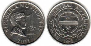1 песо филип