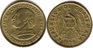 1 сентаво гватемала