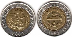 10 песо филип