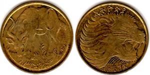 10 цент эфиоп