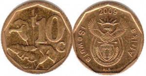 10 цент юар