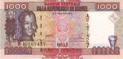 1000а гвинейских франков