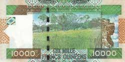 10000р гвинейских франков