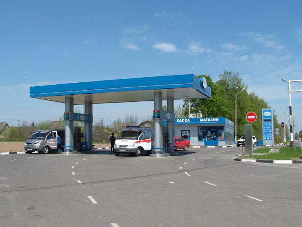 Строительство автозаправочной станции занимает не более полтора месяца