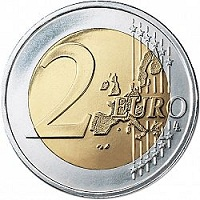 2 евро монета