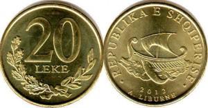 20 лек албания