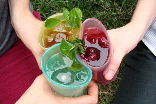 Желейные стаканы «Gummy Shot Glasses»