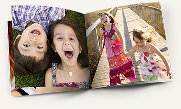 Фотокнига с детскими фотографиями