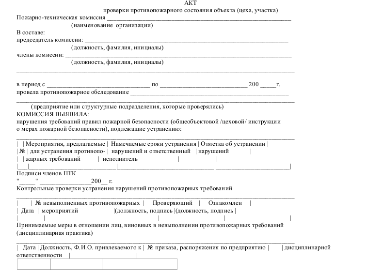 Пожарная безопасность акты сдачи почта россии повышение квалификации