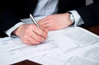 Как правильно заполняют документы