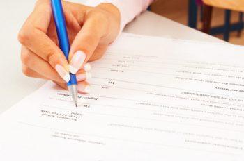 Составление анкеты при приеме на работу сотрудника