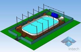 Строительство ледовых катков