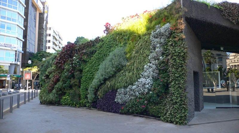 Озеленение индустриального пространства