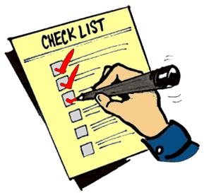 Check-List пример