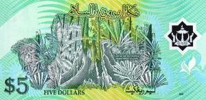 Брунейский доллар 5р