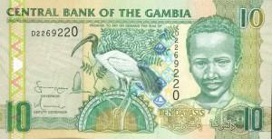 Гамбийский даласи 10а