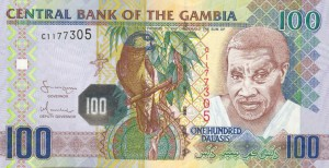 Гамбийский даласи 100а