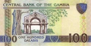 Гамбийский даласи 100р