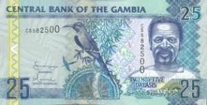 Гамбийский даласи 25а