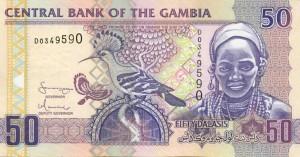 Гамбийский даласи 50а