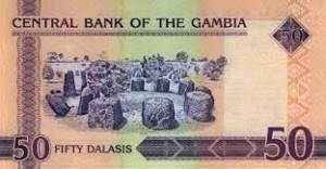Гамбийский даласи 50р