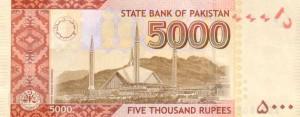 Пакистанская рупия 5000р