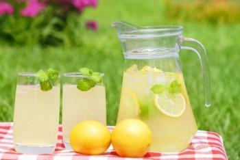 Вкусный напиток с имбирем в жару
