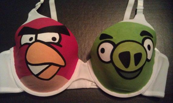 Angry-Birds прикольный лифчик