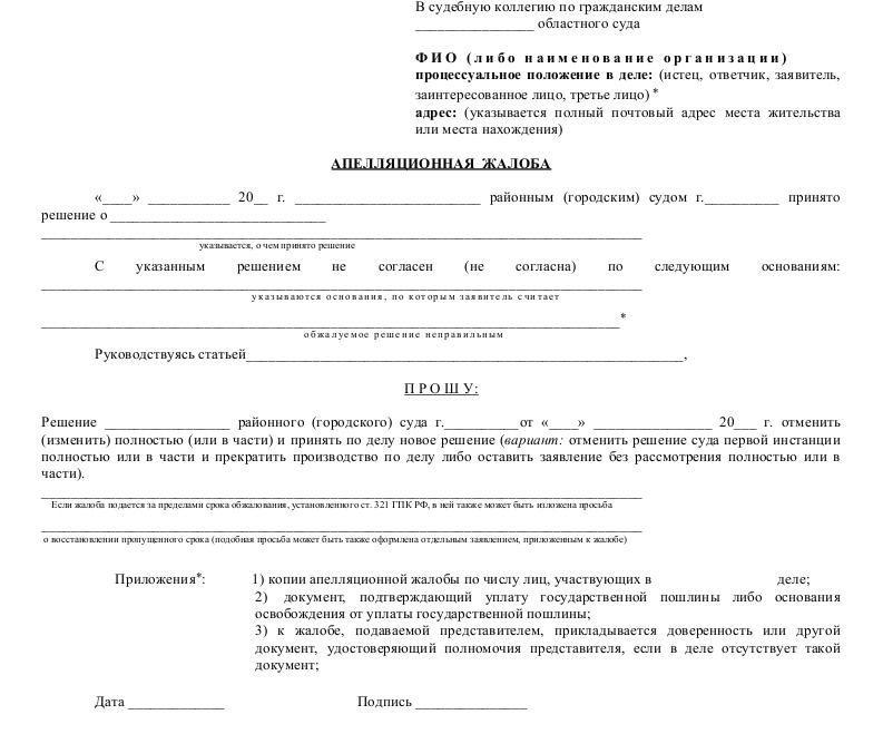 Образец заявления об отказе от частной жалобы по гражданскому делу состоянии описывать