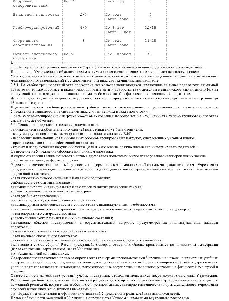 Образец устава муниципального образовательного учреждения дополнительного образования детей_003