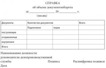 Организация документооборота на предприятии и в организациях