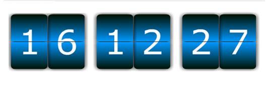До конца предложения 16 часов 12 минут 27 секунд