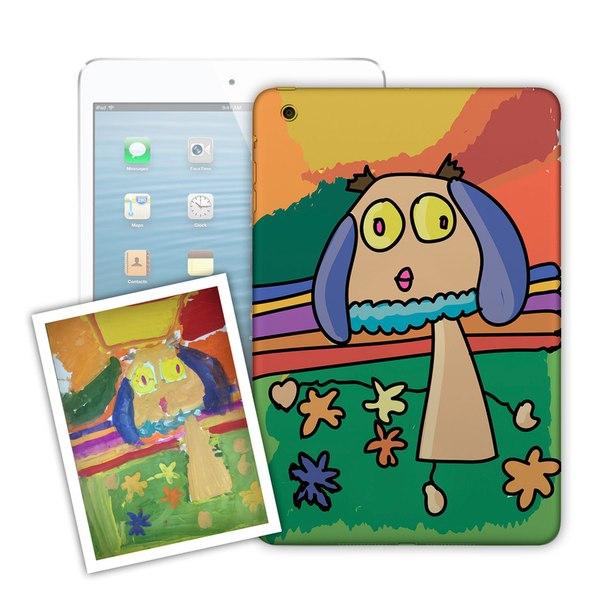 Печать на айфон по рисунку сына или дочери клиента