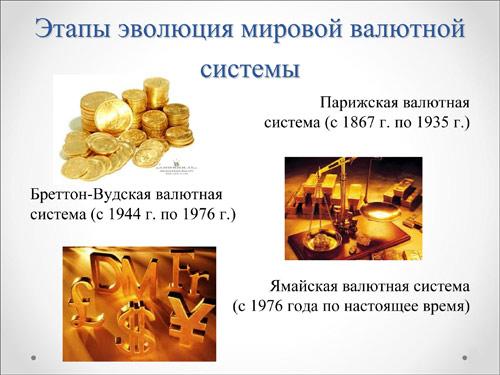 Мировая валютная система 3