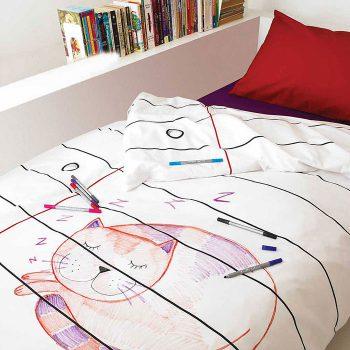 Креативное постельное белье идея для бизнеса