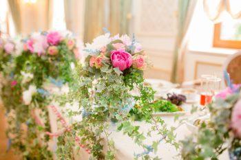 Оформление свадьбы букетами: хороший способ заработка круглый год