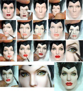 Удивительные портретные куклы