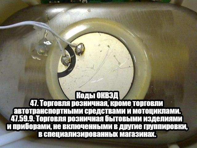 Коды ОКВЭД для бизнеса на ультразвуковых ваннах