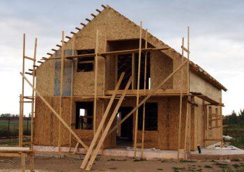 Малоэтажные дома из дерева