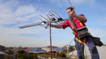 Установка спутниковых антенн на большой высоте
