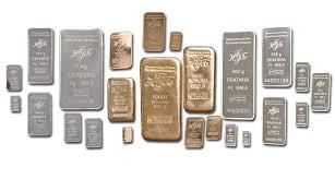 Слитки из драгоценных металлов 1