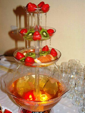 Фонтан для алкогольных напитков и соков