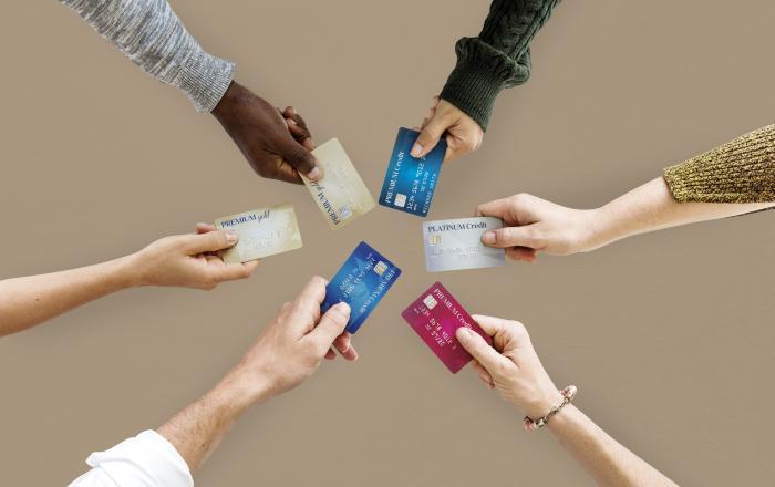 Разные кредитные карты