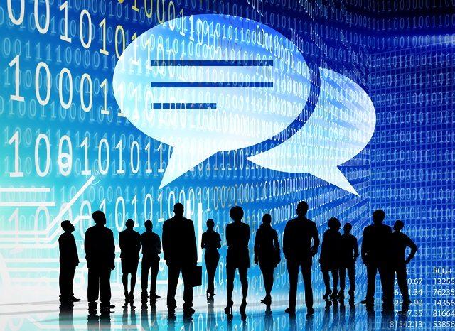Обсуждение цифрового пространства