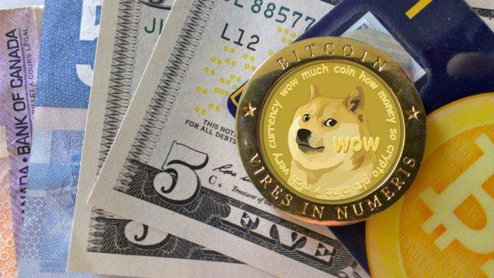 Денежная единица Dogecoin