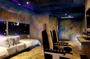 Спальни в детском отеле