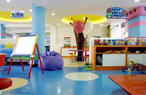 Столовая в отеле для детишек