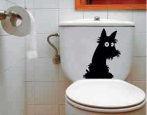 Наклейки для ванной (наклейка на унитаз)